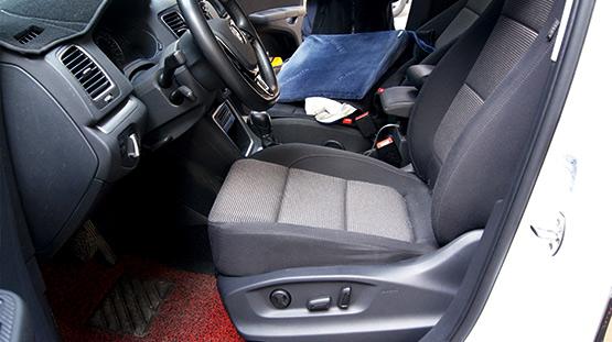 大众夏朗改装电动座椅—成都威威车改
