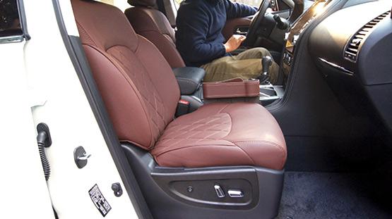 日产途乐改装电动座椅—成都威威车改