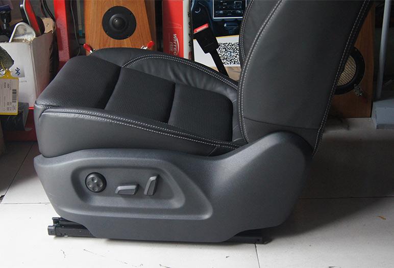 成都 途观改装电动座椅 座椅通风